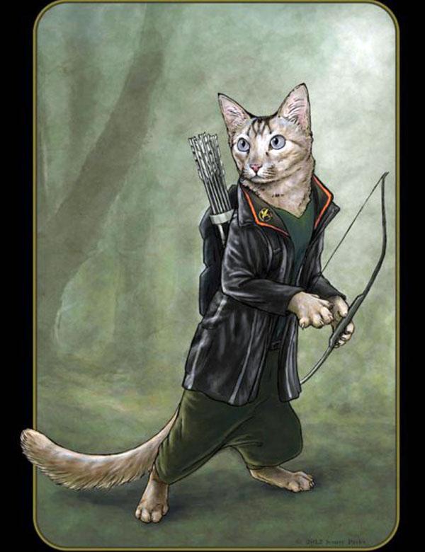 Коты-супергерои